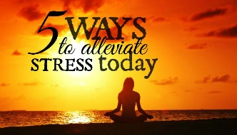 Five Ways to Alleviate Stress Today