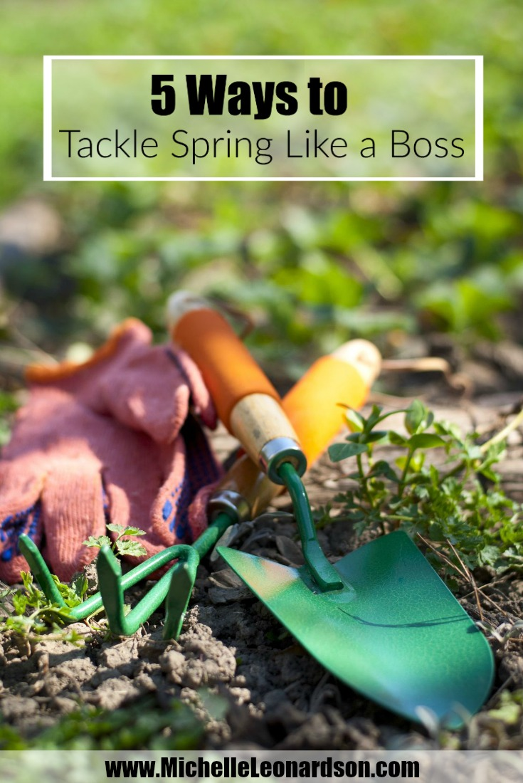 It's time for a little sun, a little rain and the fresh feel of a new season. Here are five ways to tackle spring like a boss!