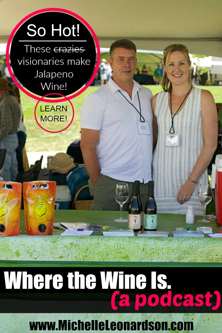 Potter Wines crafts traditional award-winning wines, though they are best known for their Jalapeno Wine and best-selling Jalapeno Wine Lemonade.