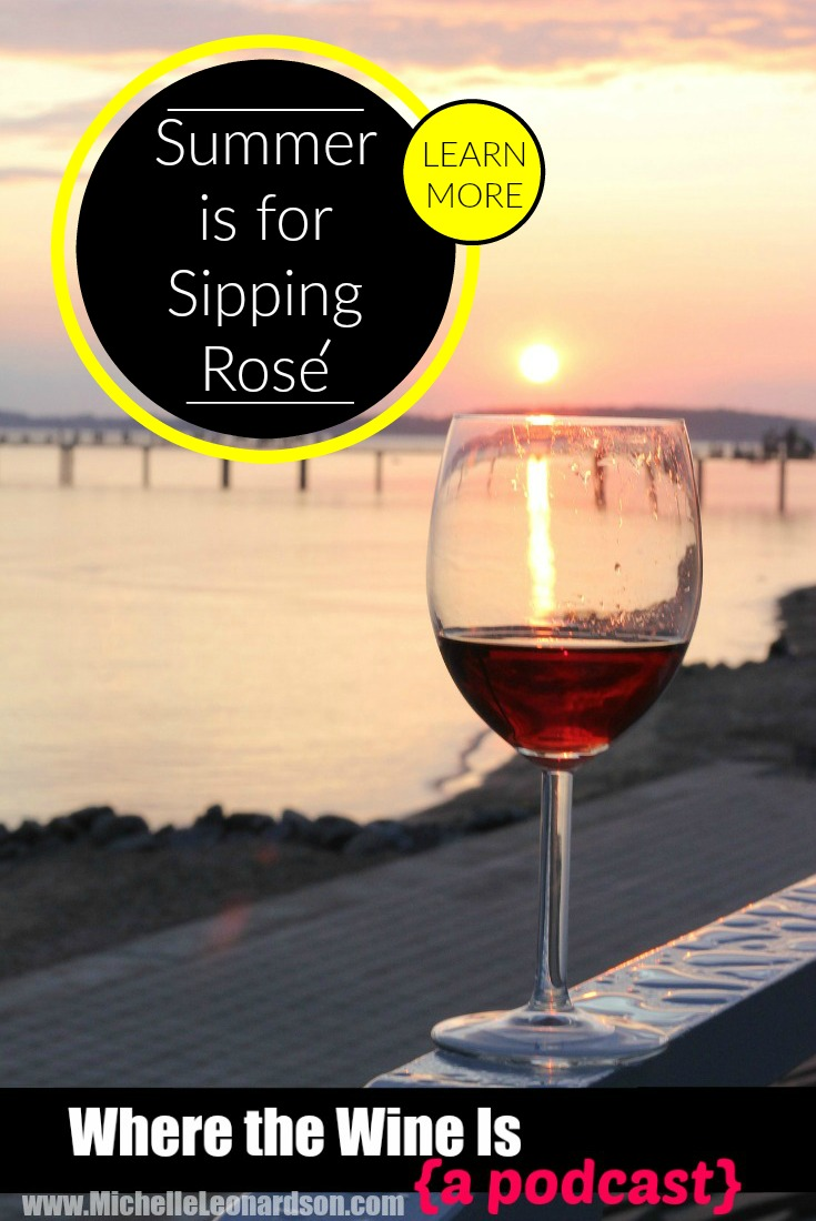 In this episode Michelle declares this to be the Summer of Rosé as she and Hat Ranch Winery assistant winemaker Will Wetmore discuss Idaho wine!