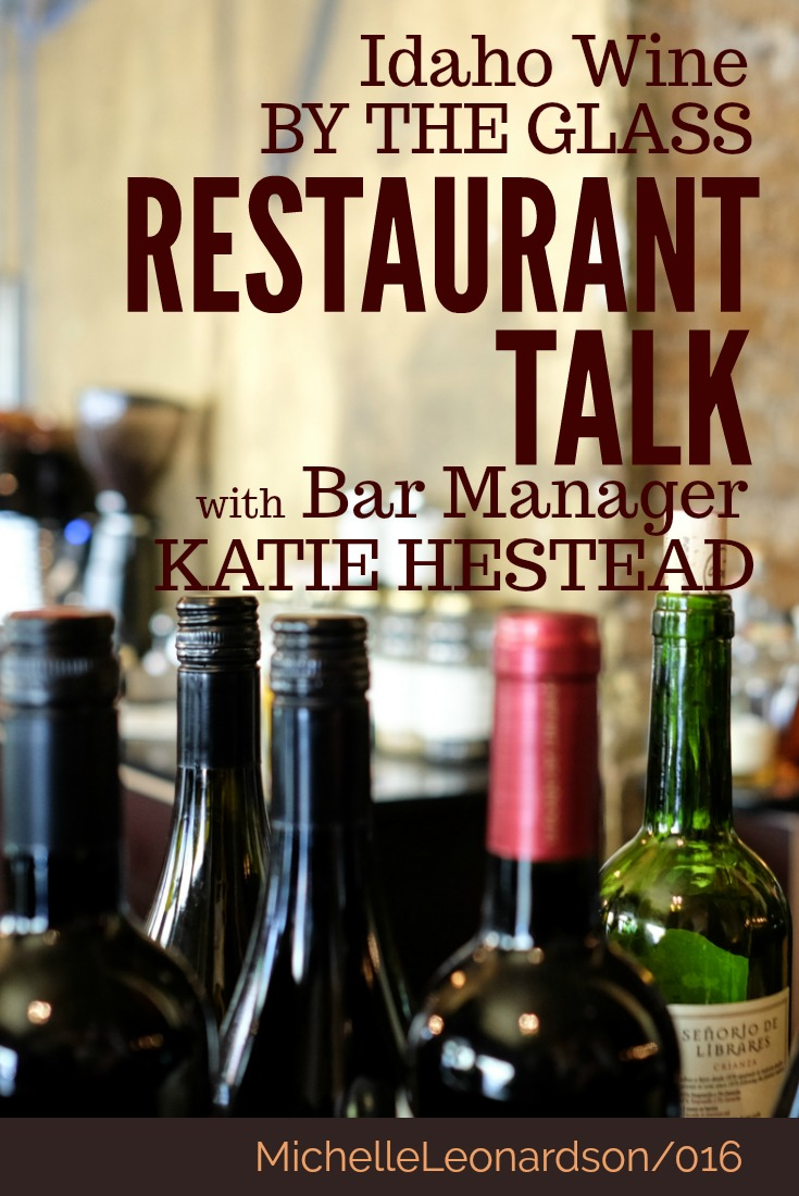 In this episode meet Katie Hestead of Richard's fine dining restaurant in Boise, ID as she talks about the role of Idaho wine in the restaurant industry.