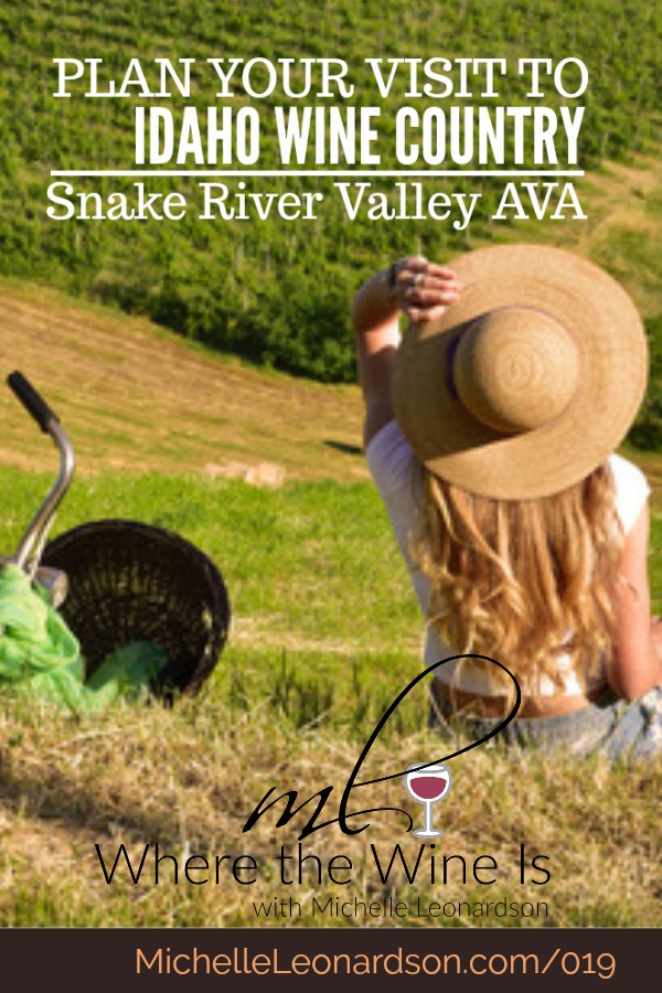 It's time to plan your visit to Idaho wine country! Explore the beautiful Snake River Valley AVA in this episode of Where the Wine Is and let yourself be whisked away to the wineries of Idaho's southwestern wine region.